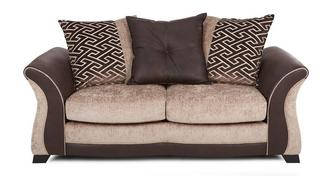 Merida Large 2 Seater Pillow Back Deluxe Sofa Bed