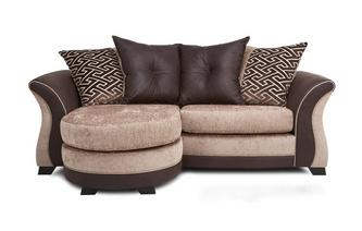 3 Seater Pillow Back Lounger Merida