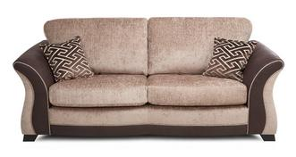 Merida 3 Seater Formal Back Deluxe Sofa Bed