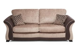 3 Seater Formal Back Deluxe Sofa Bed Merida