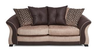 Merida 3 Seater Pillow Back Deluxe Sofa Bed