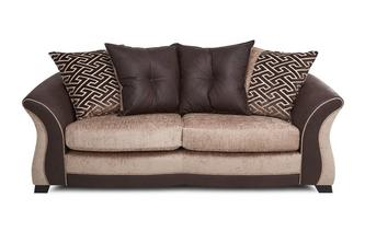 3 Seater Pillow Back Deluxe Sofa Bed Merida