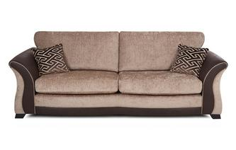 4 Seater Formal Back Sofa Merida