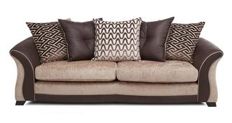 Merida 4 Seater Pillow Back Sofa