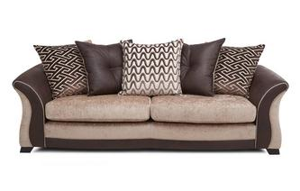4 Seater Pillow Back Sofa Merida