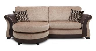 Merida 4 Seater Formal Back Lounger