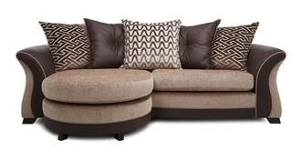 Merida 4 Seater Pillow Back Lounger