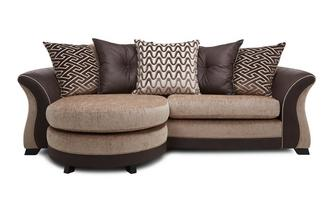 4 Seater Pillow Back Lounger Merida