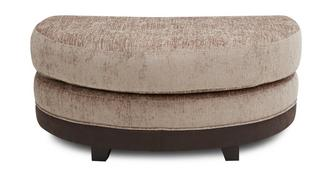 Merida Half Moon Footstool
