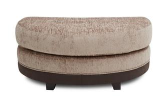 Half Moon Footstool Merida