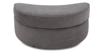 Merit Half Moon Footstool