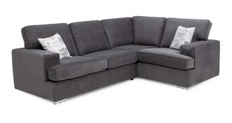 Merit Left Hand Facing 2 Seater Corner Sofa Bed