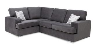 Merit Right Hand Facing 2 Seater Corner Sofa Bed