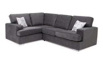 Right Hand Facing 2 Seater Corner Sofa Bed Plaza