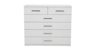 Milo 6 Drawer Wide Chest