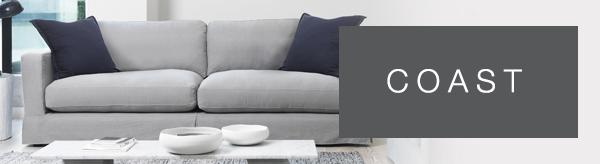 Coast sofa range