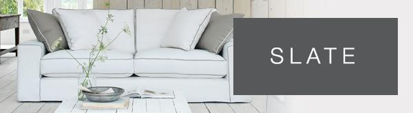 Slate sofa range