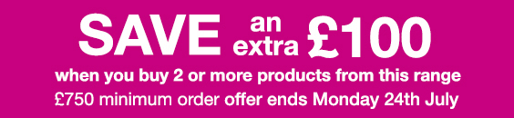 Save an extra £100!