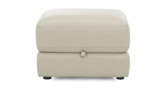 Mode Leather and Leather Look Storage Footstool