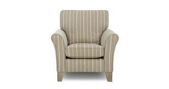 Morland Stripe Accent Chair