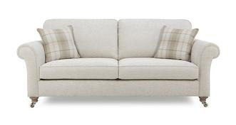 Morland Plain 4 Seater Formal Back Sofa