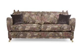4 Seater Pattern Formal Back Sofa Morris