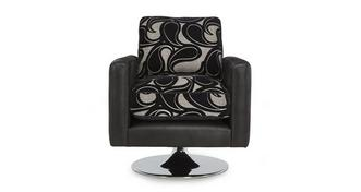 Myriad Pattern Swivel Chair