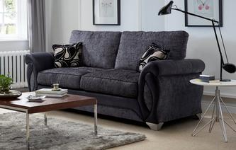 Myriad Large 2 Seater Formal Back Deluxe Sofa Bed Myriad