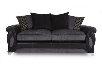 3 Seater Pillow Back Sofa Myriad