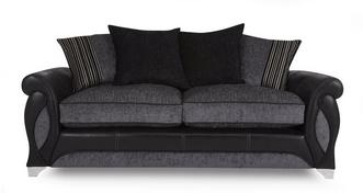 Myriad 3 Seater Pillow Back Deluxe Sofa Bed