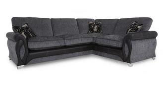 Myriad Left Hand Facing 3 Seater Formal Back Corner Sofa