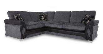 Myriad Right Hand Facing 3 Seater Formal Back Corner Sofa