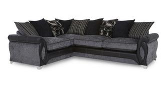 Myriad Right Hand Facing 3 Seater Pillow Back Corner Sofa