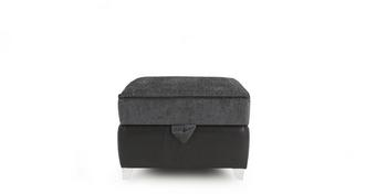 Myriad Plain Top Storage Footstool