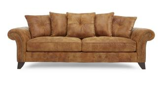 Navarro 3 Seater Pillow Back Sofa