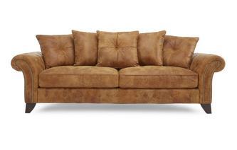 3 Seater Pillow Back Sofa Outback