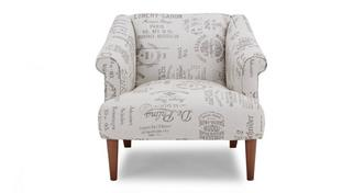 Nest Pattern Accent Chair
