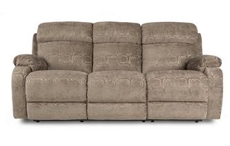 3 Seater Manual Recliner Newbury Circle