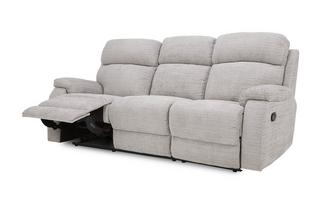 3 Seater Manual Recliner Prestige