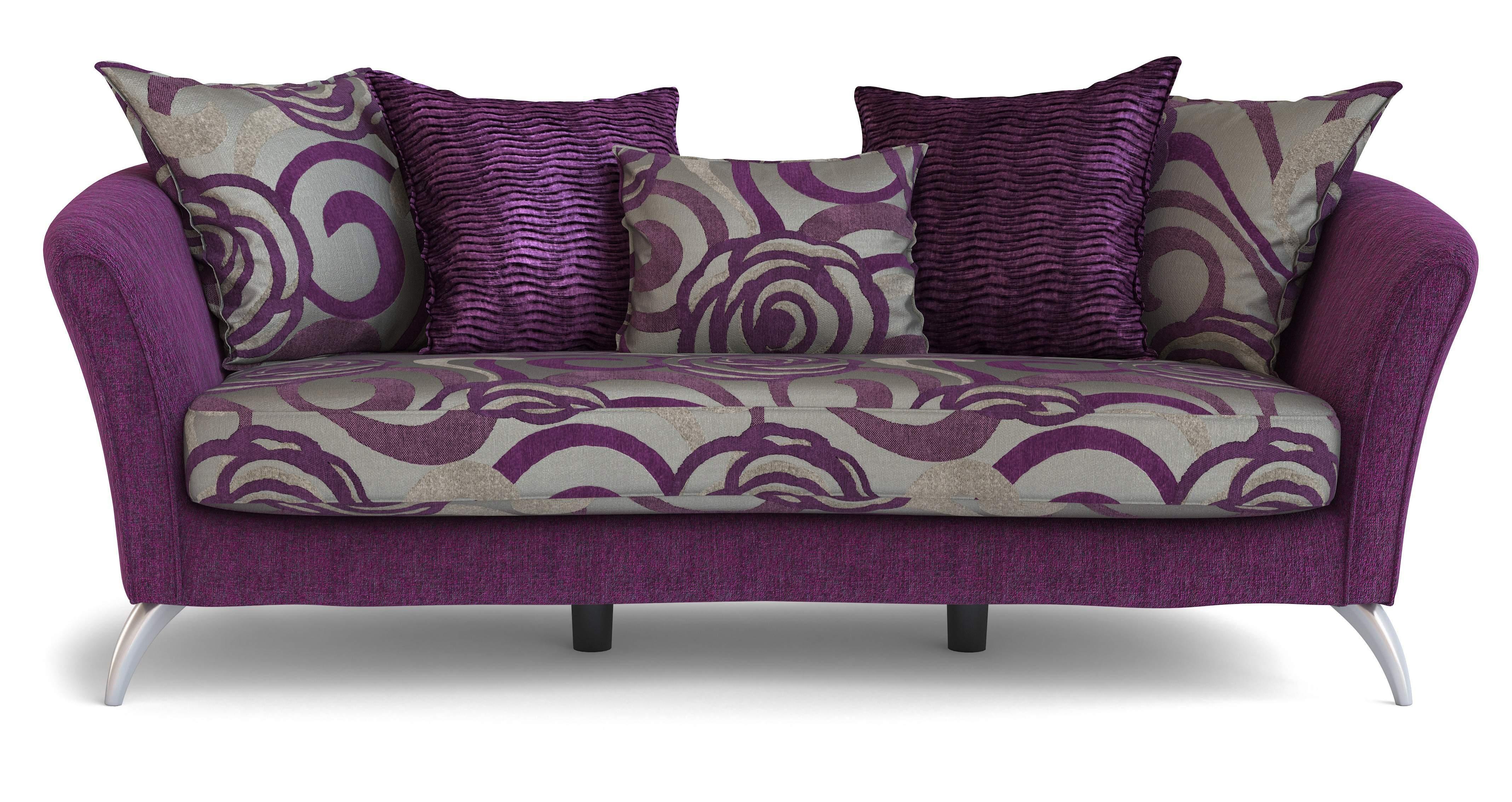 dfs nikita set 4 seater amethyst sofa cuddler sofa. Black Bedroom Furniture Sets. Home Design Ideas