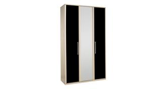 Noiret 3 Door Bi Fold Mirror Robe