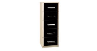 Noiret 5 Drawer Narrow Chest
