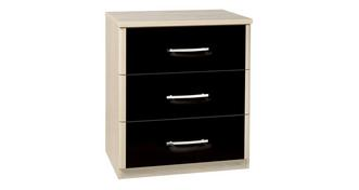 Noiret 3 Drawer Narrow Chest