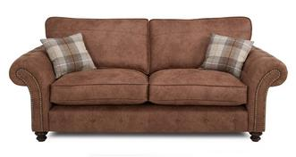 Oakland 3 Seater Formal Back Sofa