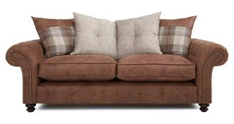 Oakland 3 Seater Pillow Back Sofa
