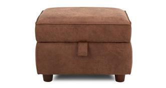 Oakland Plain Storage Footstool