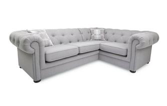 Left Arm Facing 2 Piece Corner Sofa Opera