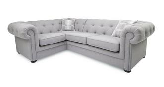 Opera Right Arm Facing 2 Piece Corner Sofa