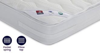 Optimum 2000 Mattress Double (4 ft 6) Mattress