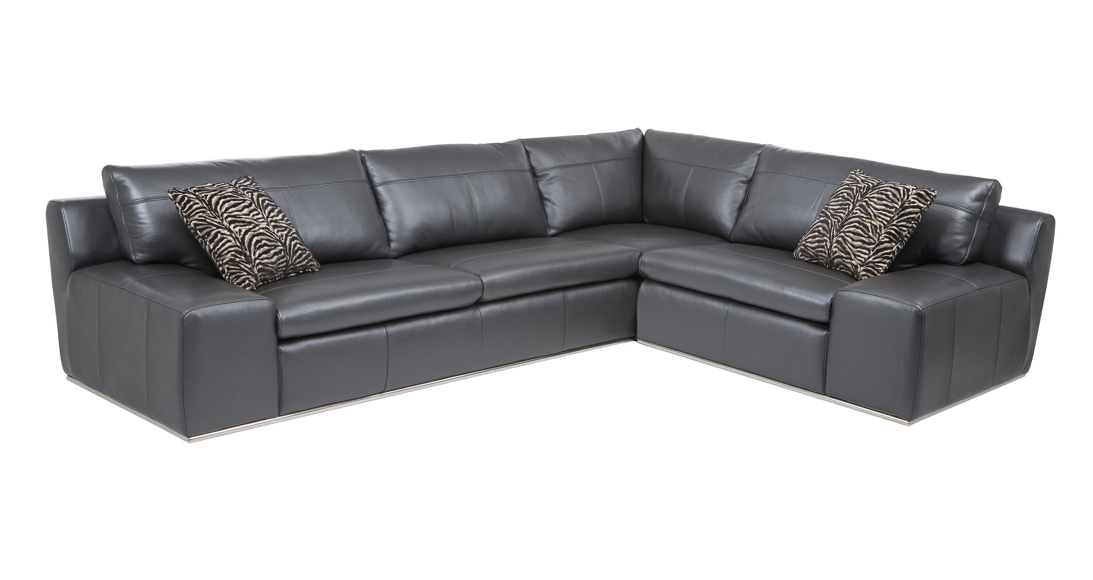 Palladium Option A Left Hand Facing 2 Seater Corner Sofa